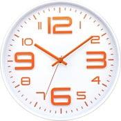 Zegar Orange Numbers, 30 cm