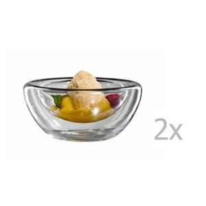 Zestaw   2 szklanych misek bloomix