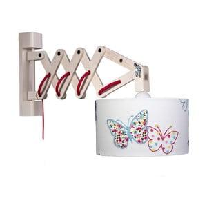 Lampa ścienna White Butterflies