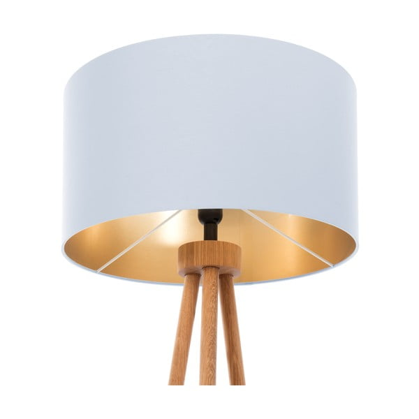 Lampa stojąca Gold Inside Ice Blue