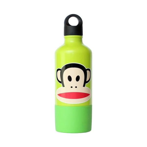 Zielona butelka z kubkiem Paul Frank