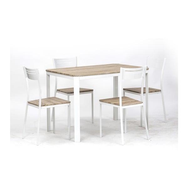 Stół i 4 krzesła Dress