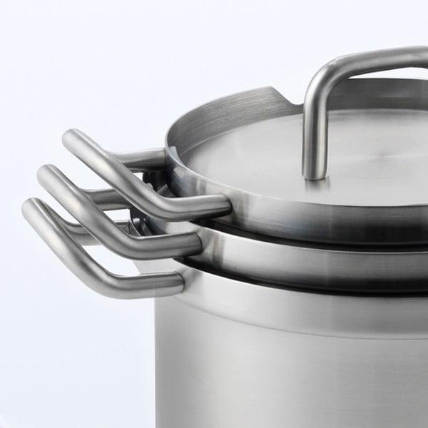 Patelnia ze stali nierdzewnej BK Cookware Q-linair Master, 16cm