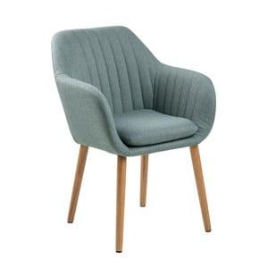Jasnoniebieskie krzesło Actona Emilia