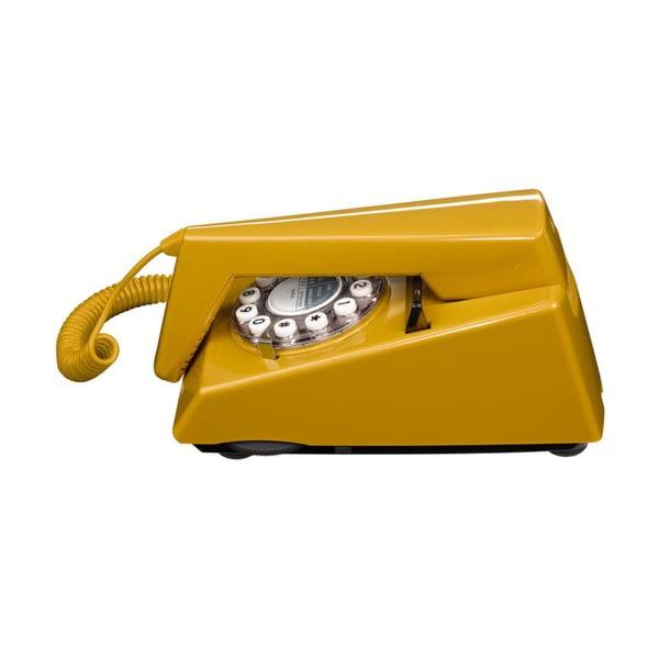 Telefon stacjonarny w stylu retro Trim Old Gold