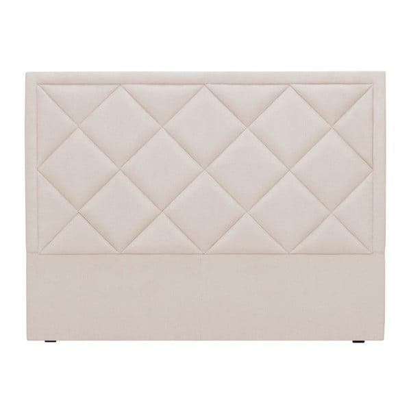 Kremowy zagłówek łóżka Windsor & Co Sofas Superb, 200x120 cm
