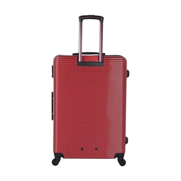 Walizka Azzaro Medium Red, 70.2 l