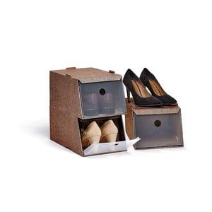 Zestaw 3 pudełek na buty Bonita