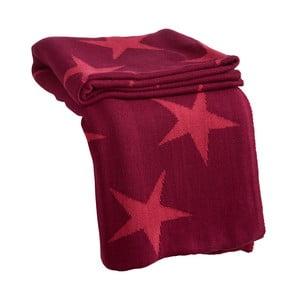 Pled Star Pink, 170x130 cm