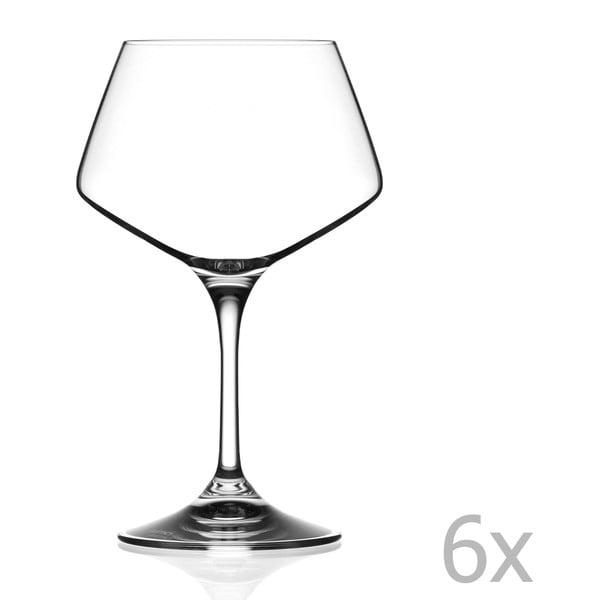 Zestaw 6 kieliszków do wina RCR Cristalleria Italiana Grazia, 501ml