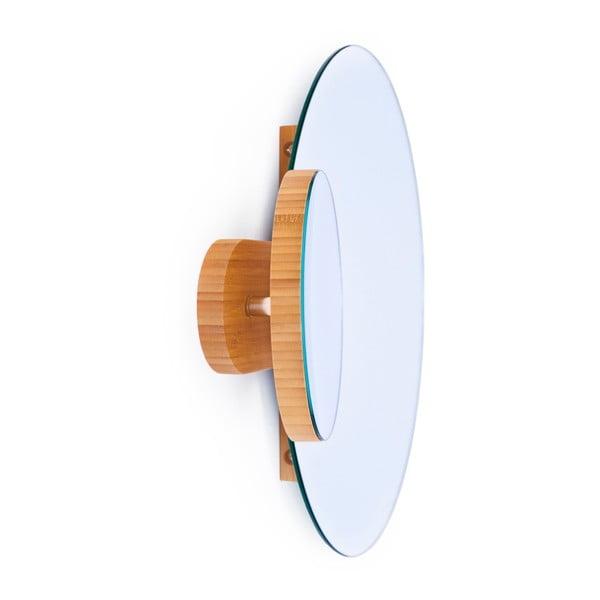 Podwójne lustro naścienne Eclipse Bamboo