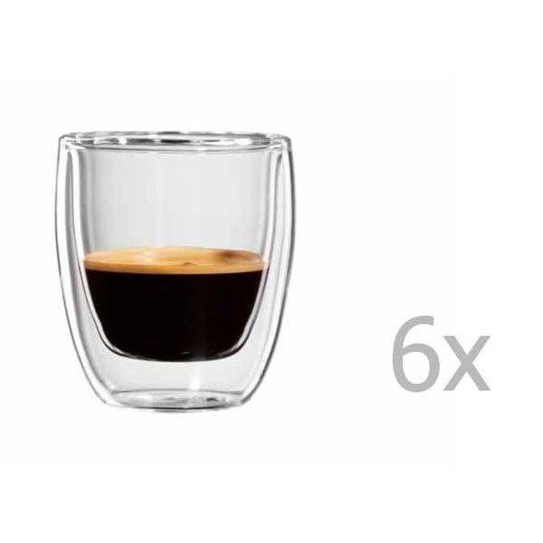 Zestaw 6   kubków na espresso bloomix Roma