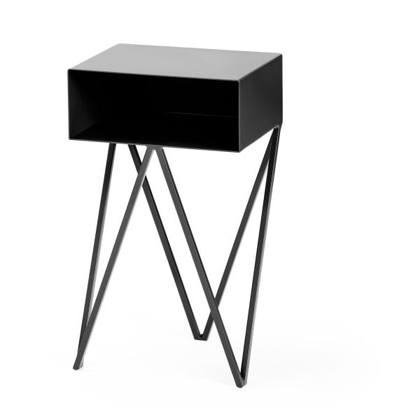 Czarny stolik nocny &New Mini Robot