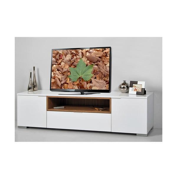 Stolik telewizyjny Grand, biały/samba