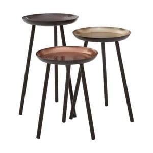 Zestaw 3 stołków Side Tables, 30 cm