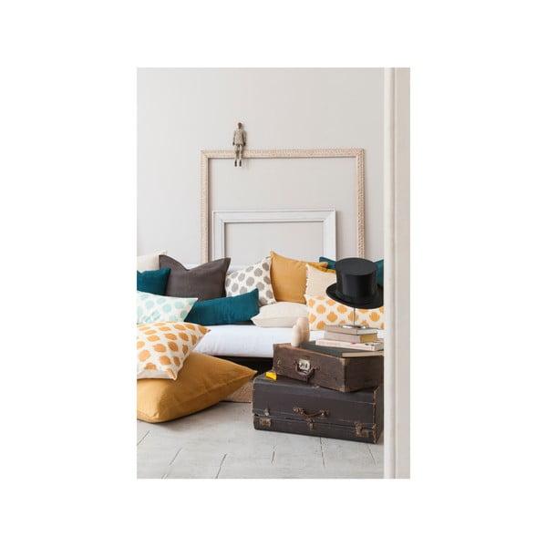 Poszewka na poduszkę Ikat Cojin Mostaza, 45x45 cm