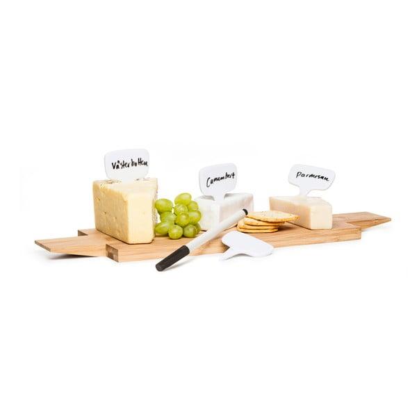 Porcelanowe znaczniki do degustacji serów Sagaform