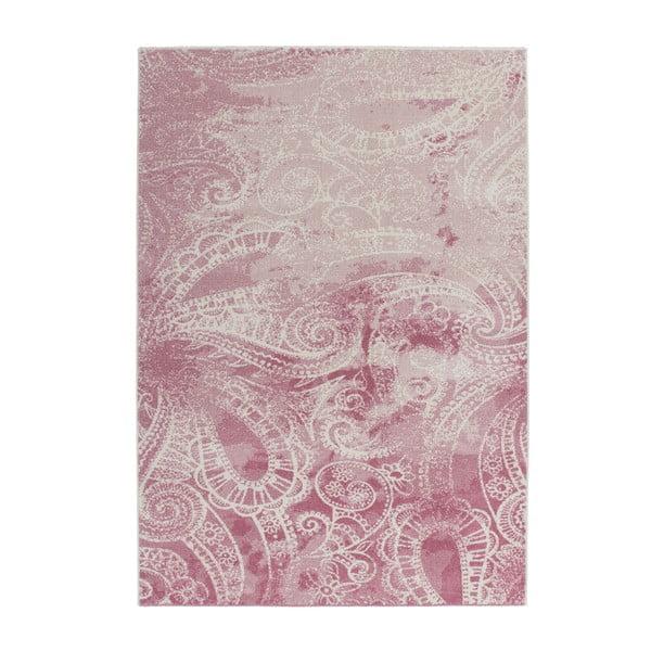 Dywan Fusion 120x170 cm, różowy