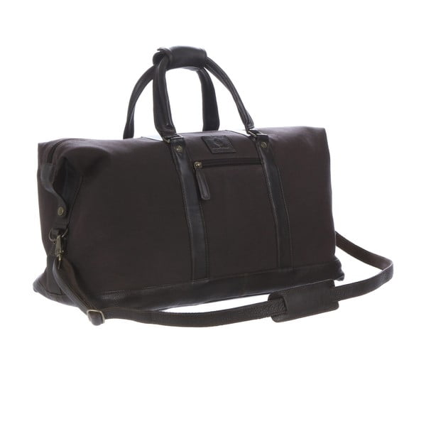 Męska torba Monty Canvas and Leather Bag