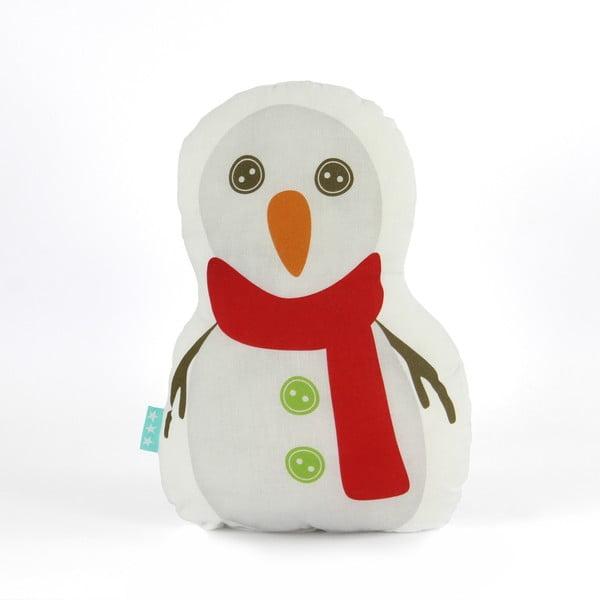 Poduszka Snowman, 40x30 cm