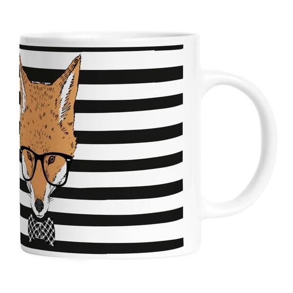 Ceramiczny kubek Handsome Fox, 330 ml
