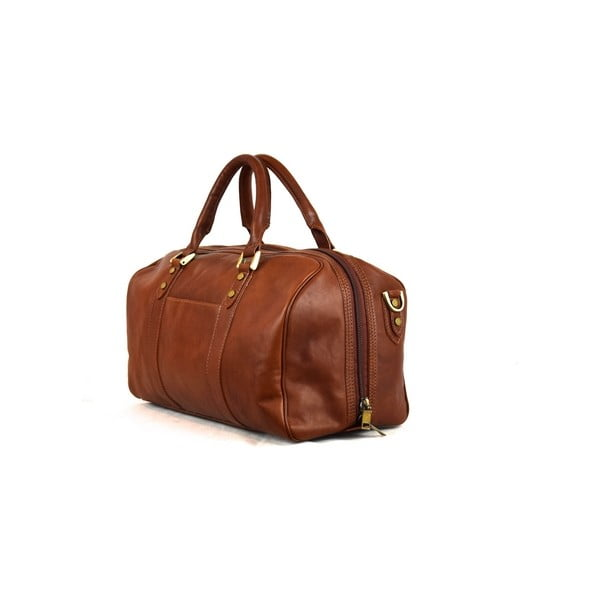 Skórzana torba Santo Croce 82965bis Brown