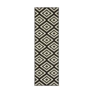 Czarno-biały chodnik Hanse Home Jenny, 80x300cm