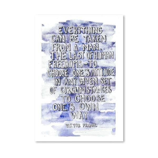 Plakat Viktor Frankl, 30x42 cm