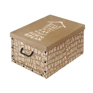 Brązowe pudełko Domopak Kraft