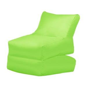 Zielony leżak składany Sit and Chill Lato