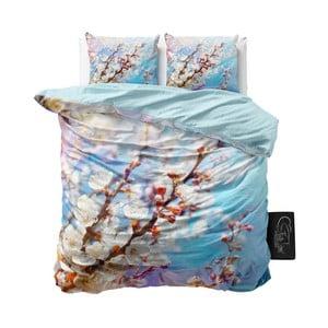 Dwuosobowa pościel z mikroperkalu Sleeptime Blossom, 200x220 cm