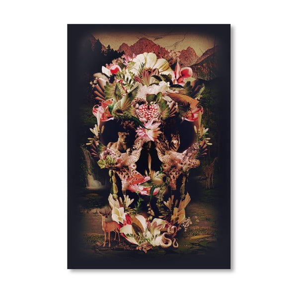 "Plakat autorski ""Jungle Skull"""