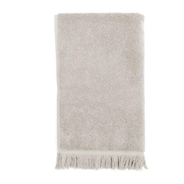 Komplet 2 jasnoszarych ręczników kąpielowych Casa Di Bassi, 100x160 cm