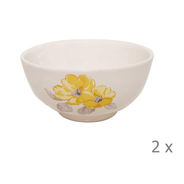 Komplet 2 misek Elise Floral, 15 cm