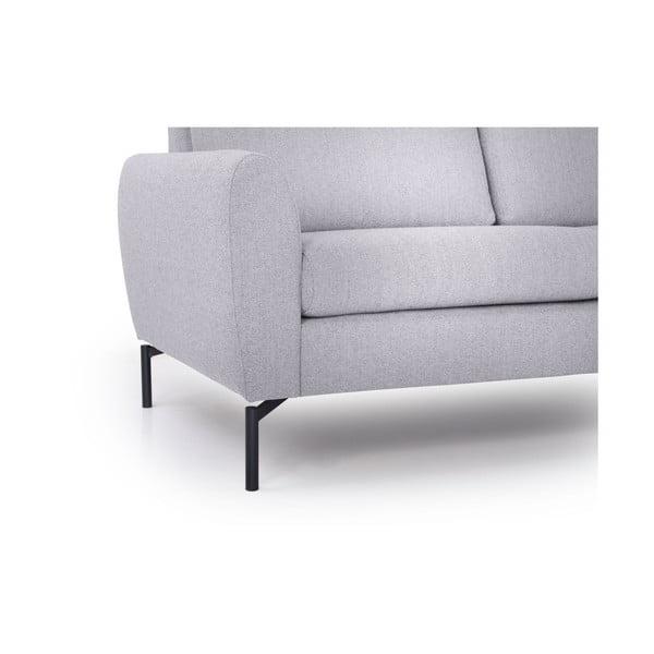 Szara sofa Softnord Vesta, prawy róg