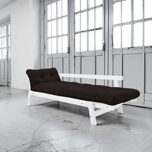 Sofa rozkładana Karup Step White/Brown