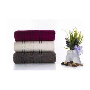 Zestaw 3 ręczników Becky V3, 50x90 cm