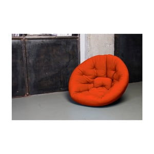 Fotel rokładany Karup Nest Orange