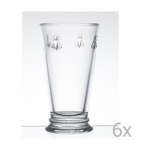 Zestaw 6 szklanek Abeille, 460 ml
