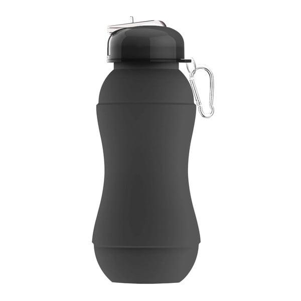 Rewolucyjna butelka Sili-Squeeze, czarna, 700 ml