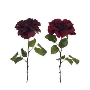 Zestaw 2 sztucznych róż