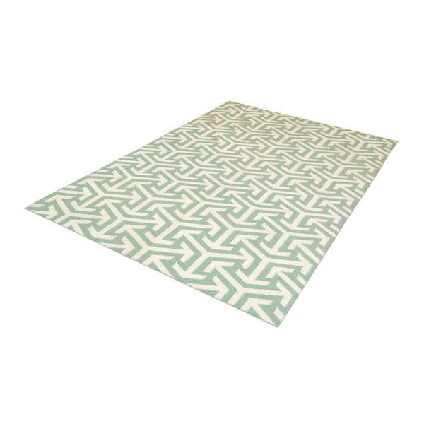 Ręcznie tkany dywan Kilim Green 103, 150x240 cm