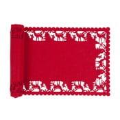 Czerwony bieżnik Clayre & Eef Holy Spirit, 30x120 cm