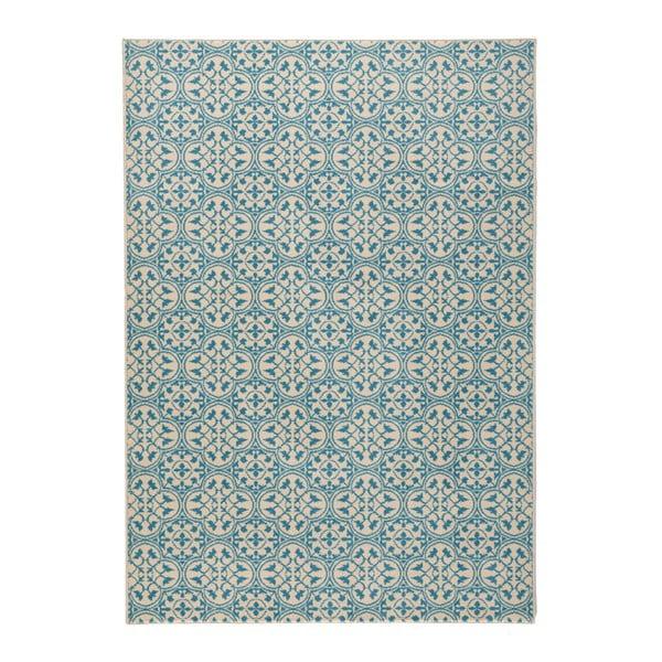Niebieski chodnik Hanse Home Gloria Pattern, 80x300 cm