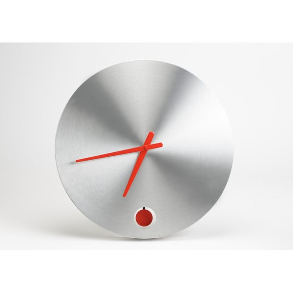 Zegar Chrome, 45 cm