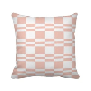 Poduszka Squarestripe Pink