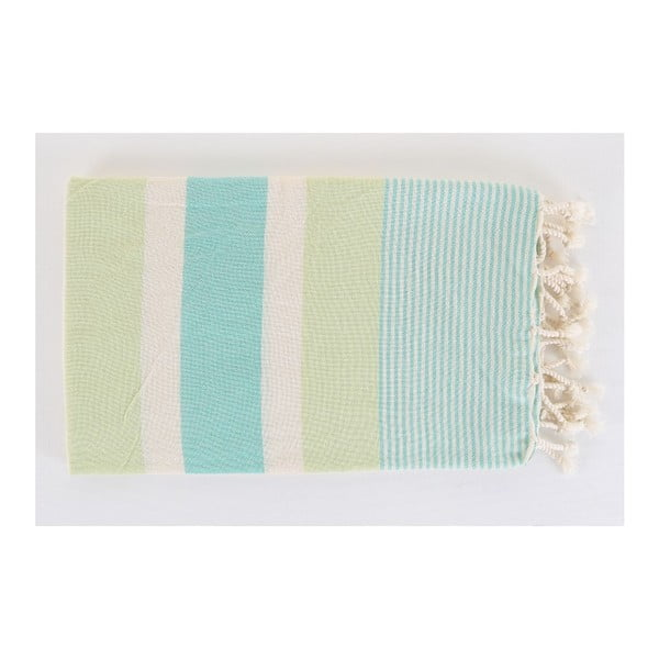 Hammam ręcznik Fouta Mint, 100x180 cm