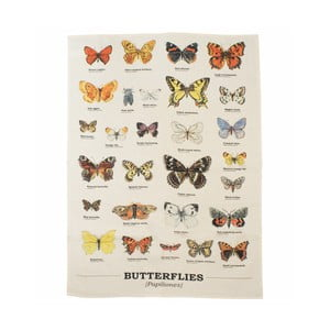 Ścierka Gift Republic Multi Butterflies
