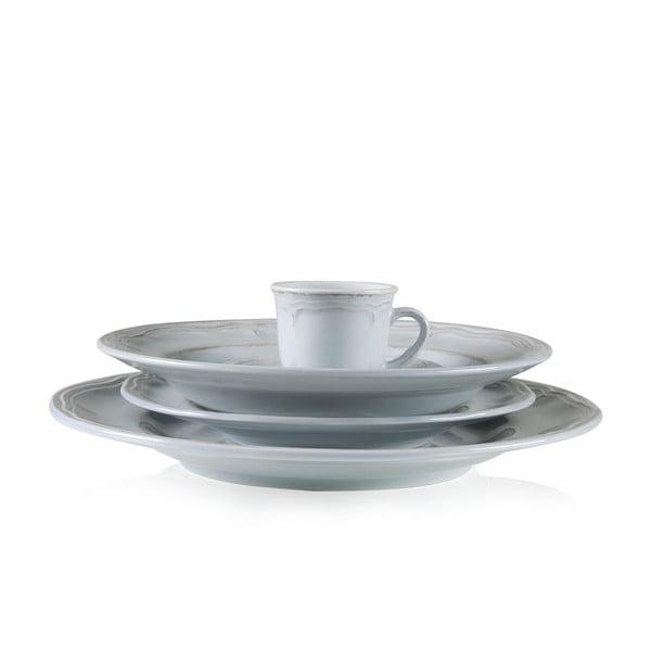 Zestaw ceramicznych naczyń Melange Blue