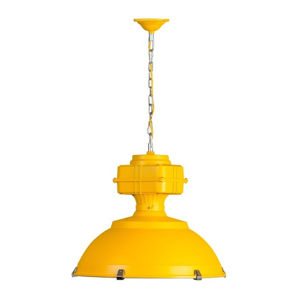 Żółta lampa wisząca ETH Manduria